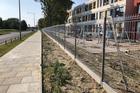 Panel ogrodzeniowy 3D -  ocynkowany i malowany proszkowo (8)