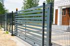 Panel ogrodzeniowy 3D -  ocynkowany i malowany proszkowo (12)